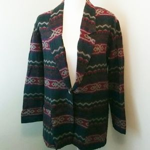 ❄ Royce California : Southwestern Blanket Blazer